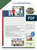 Boletin Comunitario Tuberculosis