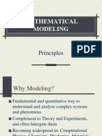 Principles of Mathematical Modelling