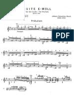 Bach, Johann Sebastian - BWV 996 Complete
