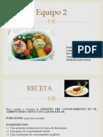 receta gestion del conocimiento.pptx