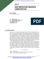 27 Nuclear Medicine Imaging Instrumentation