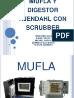 Mufla y Digestor Kjendahl Con Scruber