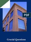 Crucial Questions- City Govt Checklist