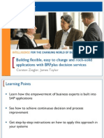 2414 Building Flexible, Easy-To-Change and Rock-Solid Applications With BRFplus Decision Services