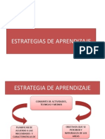 Estrategias de Aprendizajes
