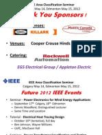 Area Classification IEEE Edmonton R1