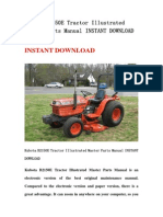 Kubota B2150E Tractor Illustrated Master Parts Manual INSTANT DOWNLOAD