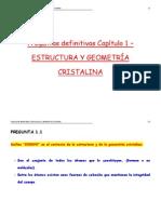 Estructura y Forma Cristalina