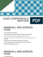 Case Analysis of Marshall & Gordon