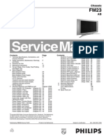 Philips 32FD9954-17 FM23 AB Service Manual