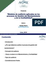 49214060 Modelos de Auditoria Aplicadas en Los Procesos de Gestion Del Mantenimiento y de La Confiabilidad