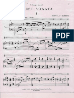 Martinu (Piano Score)