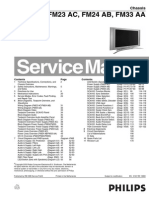 Philips 32FD9954 FM23 AA Service Manual