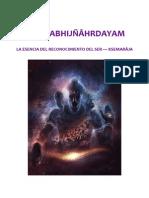Pratyabhijñâhrdayam de Ksemarâja