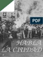 Habla La Ciudad 1986