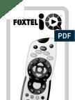 FOXTEL IQ REMOTE CONTROL HD ... instruction manual faq User Guide  ... prd1 ...