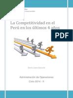 Competitividad Global en El Perú - Denis León