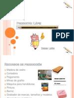 Proceso Productivo Lápiz - Denis León