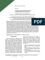 ISI Bioassessment Tonekabon Hedayatifard 2013