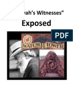 """Jehovah's Witnesses"" Exposed. (What the Bible Has to Say)"