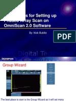 1. Omniscan Setup - Basic Setup