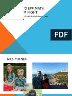 2014-15 epp curriculum