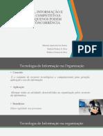 Tecnologia Da Informação e Vantagem Competitiva