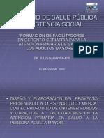 Formacion de Facilitadores en Geronto-geriatría