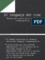 Lenguaje del Cine 01