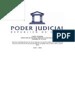 Unificación de Jurisprudencia ECS