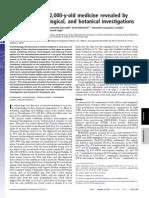 2000 Year Old Medicine PNAS
