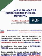 Palestra - A Contabilidade Pblica Nos Municpios - 2013 - 30 Congresso Mineiro de Municpios - Milton 9 de Maio