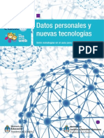 Datos Presonales y Nuevas Tecnologías