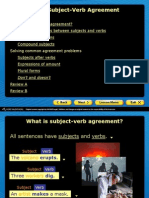 suject verb agreement slideshow