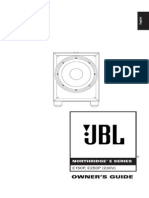 JBL Manual - Northridge E150P