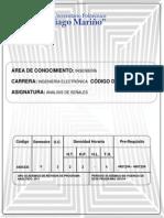 Programa Analisis de Señales (2011)