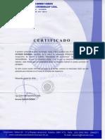 Certificado de Cuenta