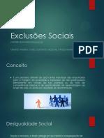 Exclusões Sociais