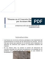 Fisuras en el Concreto Estructural por Acciones Mecánicas.pptx