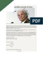 Nicanor Parra. Los Versos Perdidos Durante 25 Años.