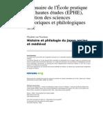 Ashp 1067 141 Histoire Et Philologie Du Japon Ancien Et Medieval