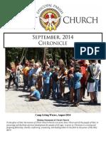 2014 September Chronicle Christ Church Eureka