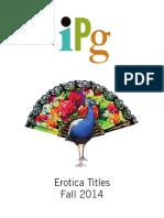 IPG Fall 2014 Erotica Titles