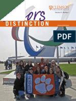 Honors Distinction Fall 14