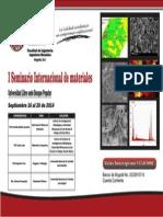 Afiche Ing Mecanica Seminario Materiales