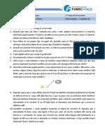 Lista 1 - Eletrostática - Capítulo 22