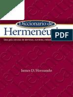 James D. Hernando - Diccionario de Hermenéutica