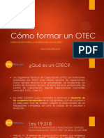 Como Formar Un OTEC