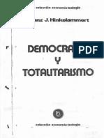 Democracia y Totalitarismo - Frank J. Hinkelammert