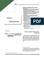 Unidad I. Kerlinger, F. N. (1999). Investigación Del Comportamiento. Pp. 412-426
